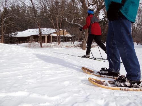 skiing-snowshoeing