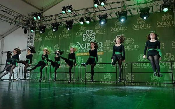 Irish Dancers at Dublin Irish Festival