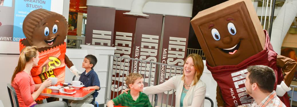Hershey's Chocolate World Attraction Hershey PA
