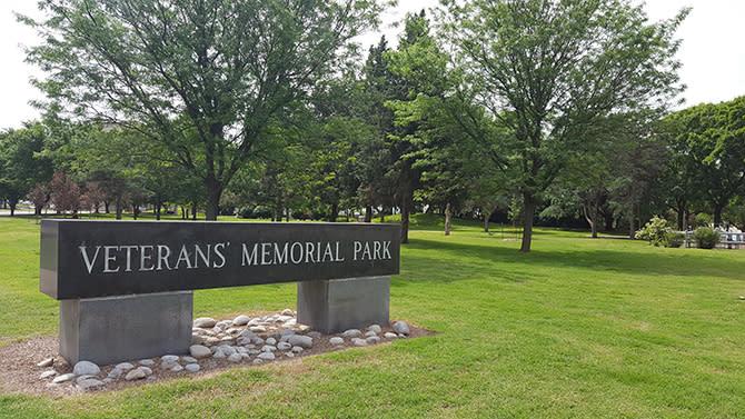 Veterans Memorial Park In Wichita