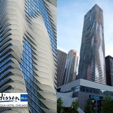 Radisson Blu Aqua Hotel, Chicago