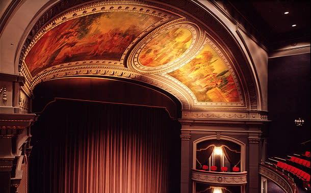 Grand theatre stage