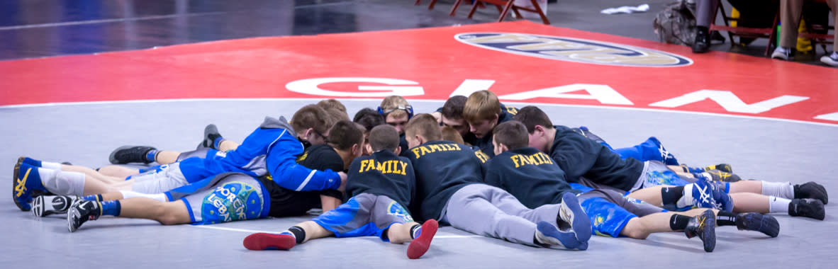 PIAA Team Wrestling in Hershey