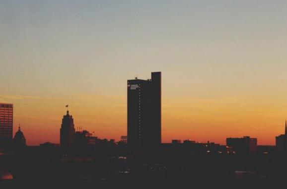 Fort Wayne, IN Skyline East - he_wants_revenge Instagram