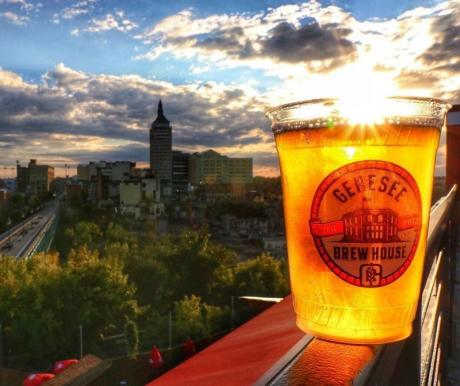 View from the Genesee Brew House