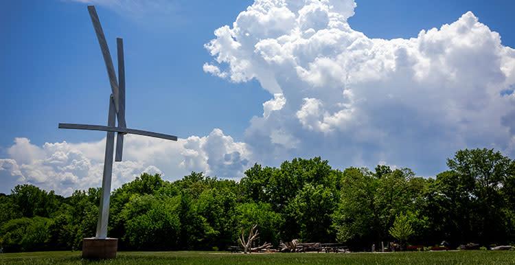 Overland Park Arboretum Sculptures