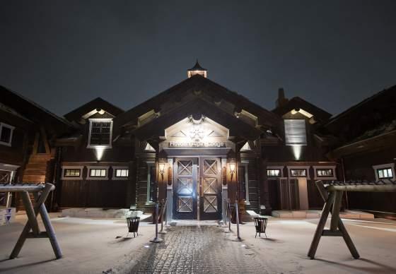 Hovden Alpin Lodge, restaurant og møteplass