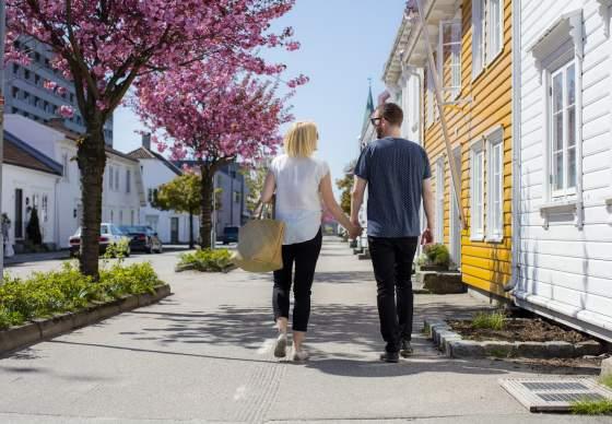 City walk in Kristiansand