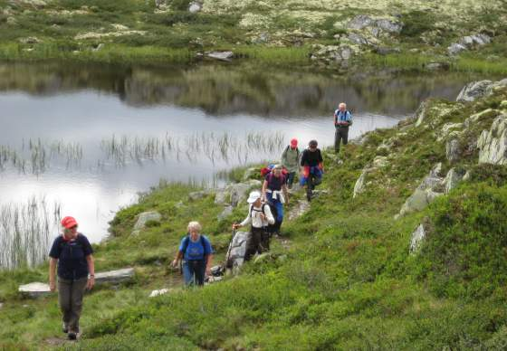 Fusswanderung im Nationalpark Rondane / Gepäcktransport | Discover Norway
