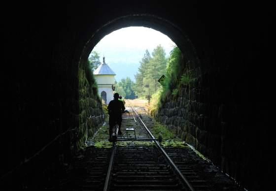 Rail Biking tour in Flekkefjord