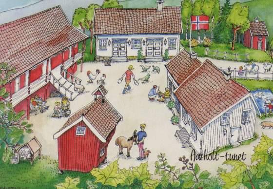 Aarholt-tunet Gjestegård