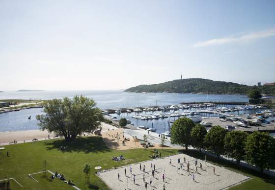Kristiansand City beach