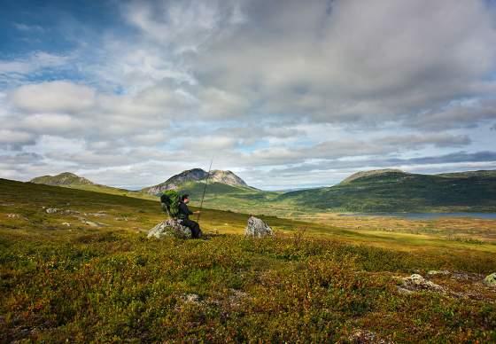 Blåfjella-Skjækerfjella National Park