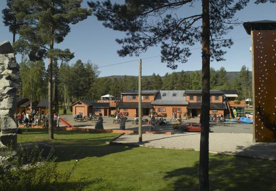 Accommodation at TrollAktiv rafting centre