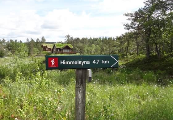 Himmelsyna, 649 m.o.h.