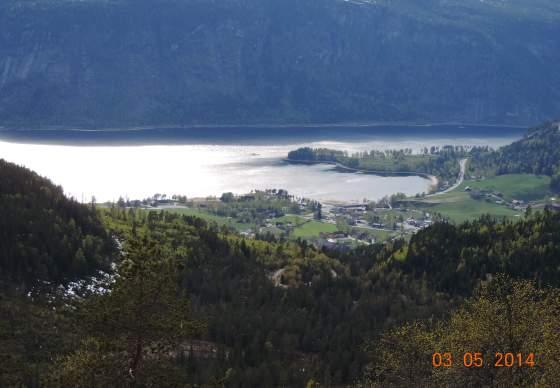 Drøymarnuten, Bygland, 710 m.o.h.