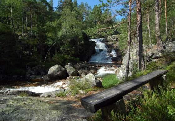 Der Wanderpark in Rysstad