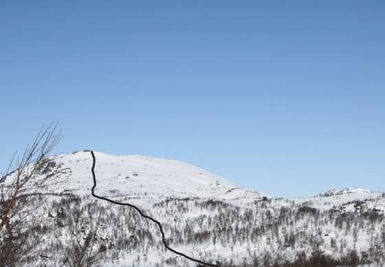 Topptur på ski til Kaldsfjødd