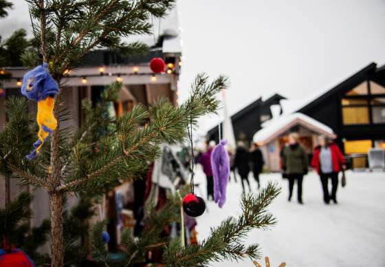 Christmas market in Geilo