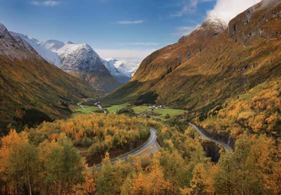 Norwegian Scenic Route Gamle Strynefjellsvegen
