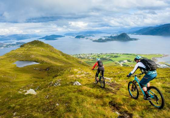 Mountain bike tour Norway