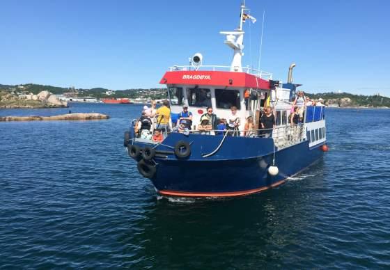 Bootsfahrt mit der MS Bragdøya - Sommerausflug