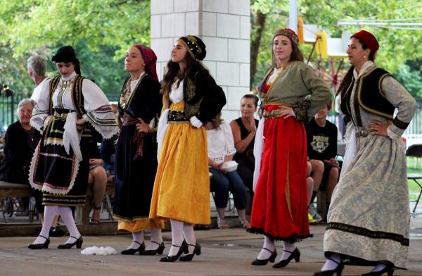 Dancing at GreekFest