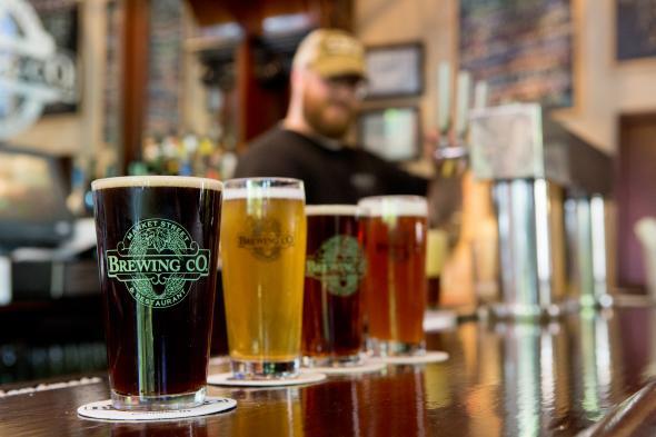 Market Street Brewing glasses