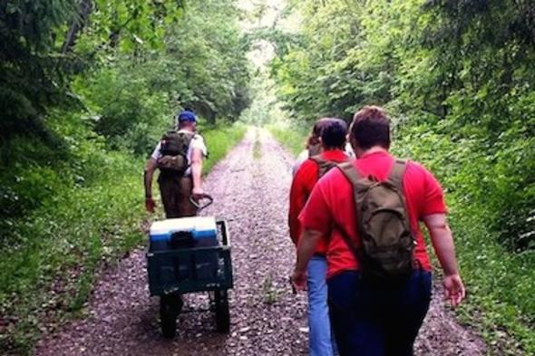 Hiking with Ranger Outfitters
