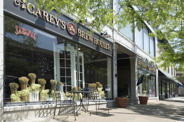 Careys Brew House exterior