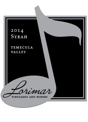 Lorimar Winery Label