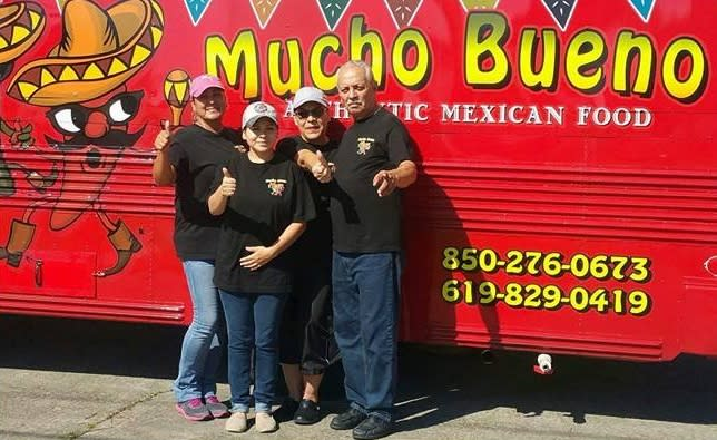 Mucho Bueno serves authentic Mexican dishes.