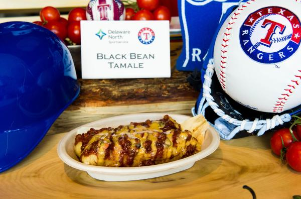 Black Bean Tamales, courtesy of Delaware North