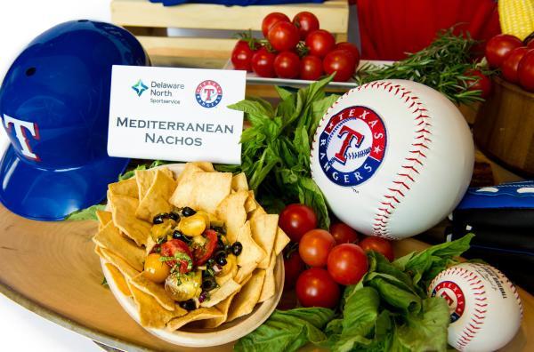 Mediterranean nachos, courtesy Delaware North