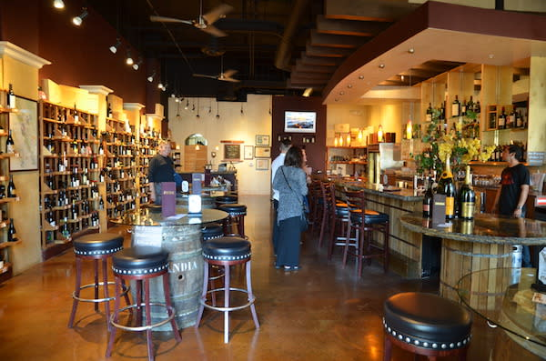 Inside Main Street Wine Co.