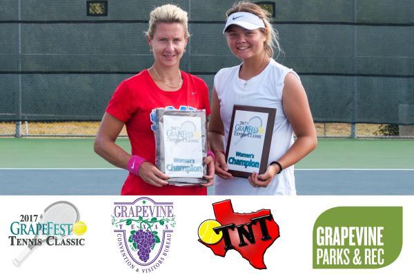 GrapeFest Tennis Winners Women