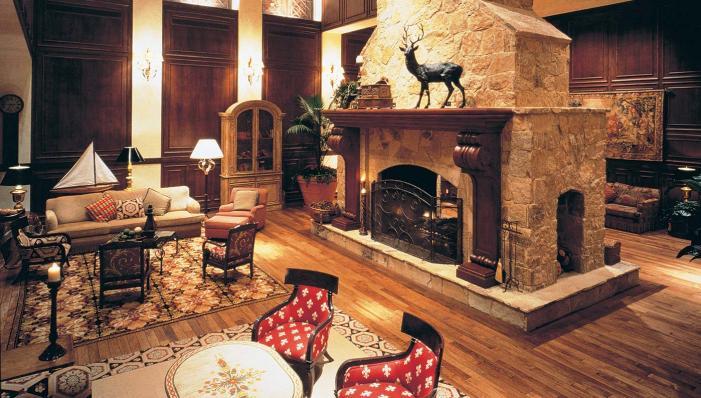 Interior of the Houstonian Hotel