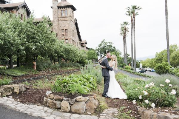 Culinary Institute of America at Greystone Outside Napa Valley Wedding