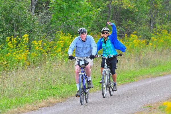 Great Allegheny Passage bikers