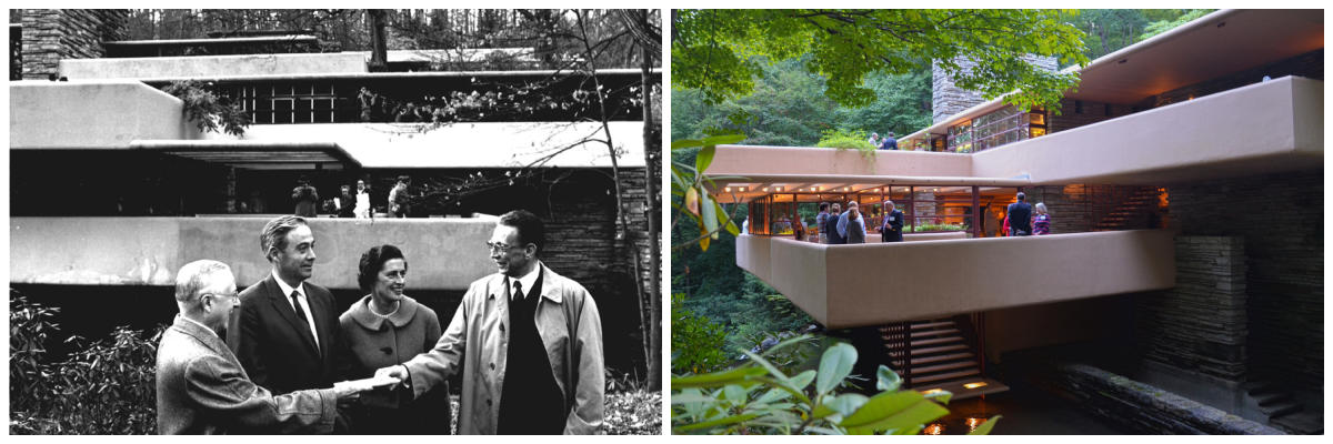 Fallingwater Then and Now