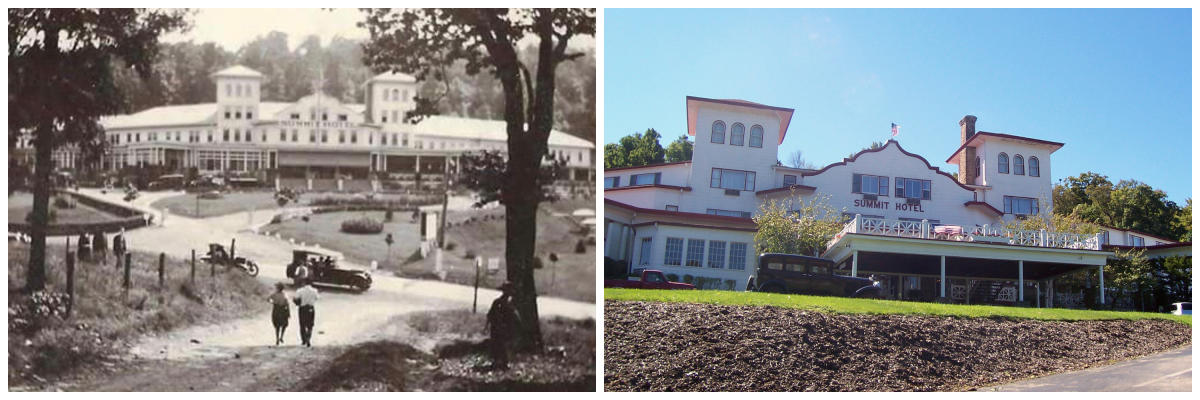 Summit Inn Resort Then and Now