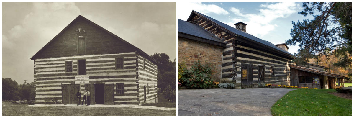 Mountain Playhouse Then and Now