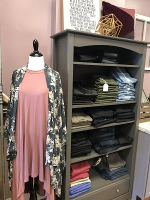 All the latest trends are available at Blush Boutique in Danville.