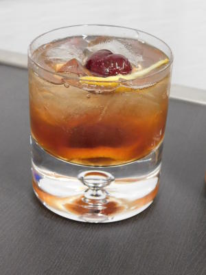Not so Old Fashioned drink - Levy