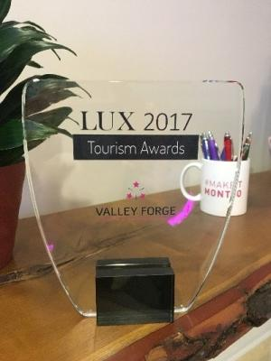 LUX Magazine, a publication from Great Britain, has recognized the Valley Forge Tourism & Convention Board with its Best Cultural Heritage Tourism Initiatives award for 2017.