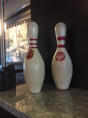 Cap City Decor - bowling pins