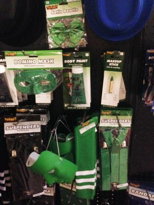 Green Costume Items