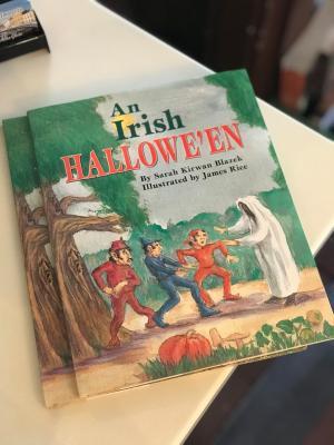 An Irish Halloween Book from Ha'Penny Bridge