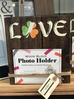 Irish Love Photo Holder