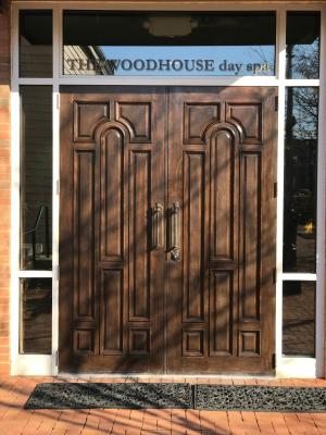 Woodhouse Day Spa Door